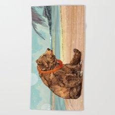 Beach Bear Beach Towel