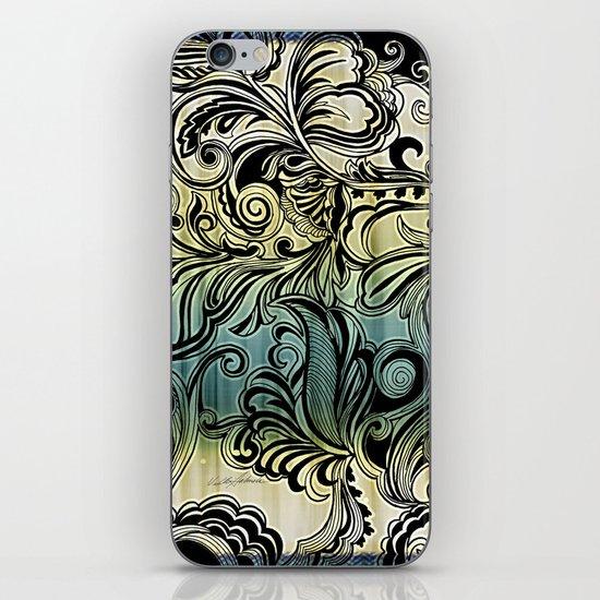Swirl and Curl iPhone & iPod Skin