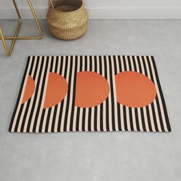 Abstraction_SUNSET_LINE_ART_Minimalism_001 Rug