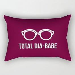 Total Dia-Babe Rectangular Pillow