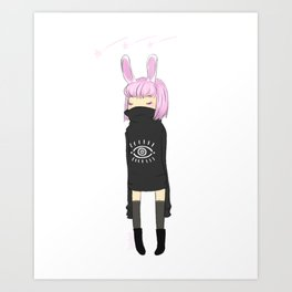 Pink Magic Art Print
