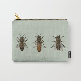Honey Bee Family Carry-All Pouch