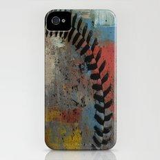 Painted Baseball iPhone (4, 4s) Slim Case