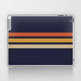 Vintage Retro Stripes Laptop & iPad Skin