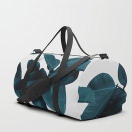 Indigo Blue Plant Leaves Sporttaschen