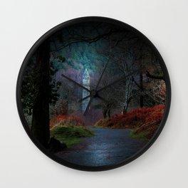 County Wicklow Ireland Fairytale Land Woodland Photography Wall Clock