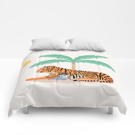 Tiger Paradise Comforters