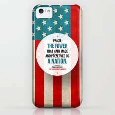 Preserved us a Nation Slim Case iPhone 5c