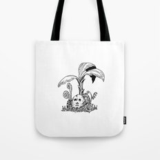 Forest Totem Tote Bag