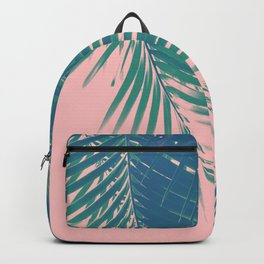 Palm Leaves Blush Summer Vibes #2 #tropical #decor #art #society6 Backpack