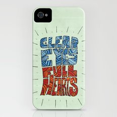 Clear Eyes, Full Hearts... Slim Case iPhone (4, 4s)