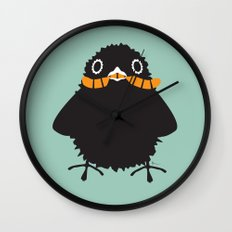 Baby Raven, Worm Wall Clock