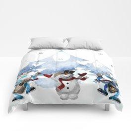 Snowman20150904 Comforters
