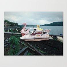 Lake Yamanaka Canvas Print