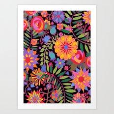 Just Flowers Art Print