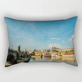 Charles Bridge in Prague Rectangular Pillow