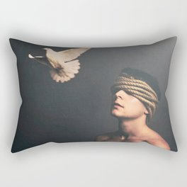 Peace In The Darkness Rectangular Pillow