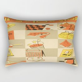 Vintage poster - Five and Dime Rectangular Pillow
