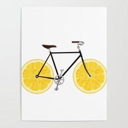 Lemon Bike Poster