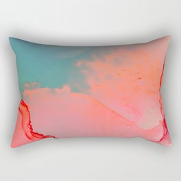 BETTER TOGETHER - LIVING CORAL by MS Rectangular Pillow