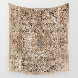 Silk Esfahan Persian Carpet Print Wall Tapestry