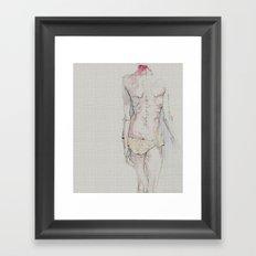 Model? Framed Art Print