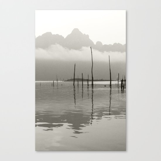 Nothing ever changes Canvas Print