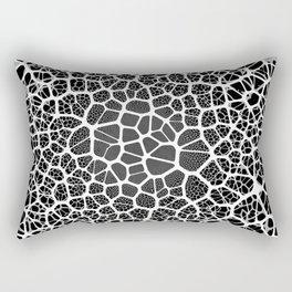 Abstract Neurons Network Rectangular Pillow