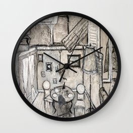 Artdeco Wall Clock