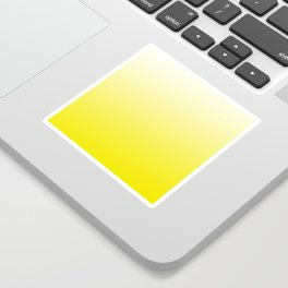 Simply sun yellow color gradient - Mix and Match with Simplicity of Life Sticker
