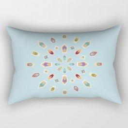 "Mandala ""Abstracted Boats"" Rectangular Pillow"