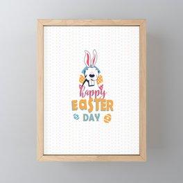 Easter Day for Bully Family Framed Mini Art Print