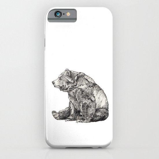 Bear // Graphite iPhone & iPod Case