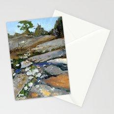 Sky Blue Puddles Stationery Cards