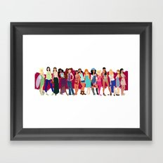 Modern Ladies  Framed Art Print