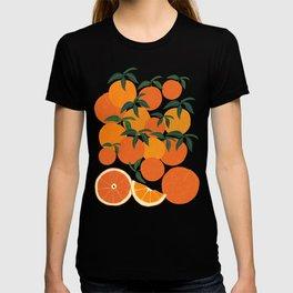 Orange Harvest - Blue T-shirt