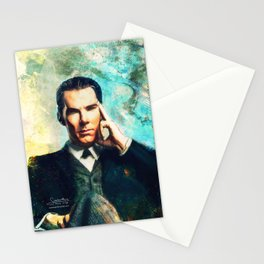 Man Out Of His Time Stationery Cards