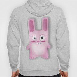 Watercolor Freezer Bunny Hoody