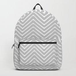 Herringbone - Grey Backpack