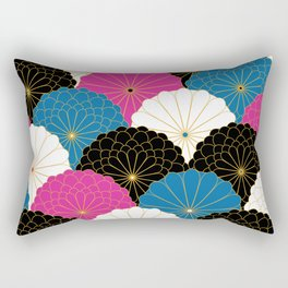 Japanese Chrysanthemum 2 Rectangular Pillow