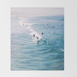 Catch A Wave Throw Blanket