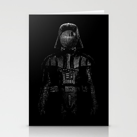 Darth Magritte Stationery Cards