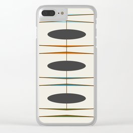Mid-Century Modern 1.1 Clear iPhone Case