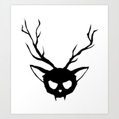 The Catalope Art Print