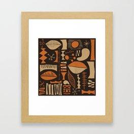 Makura Framed Art Print