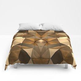 GEOMETRIC GOLD Comforters