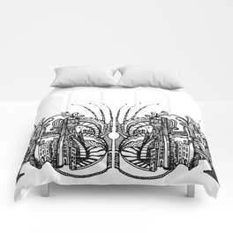 Enchanted City (Genova, Italy) - Duvet Cover Comforters