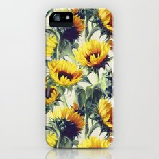 Sunflowers Forever Slim Case iPhone (5, 5s)