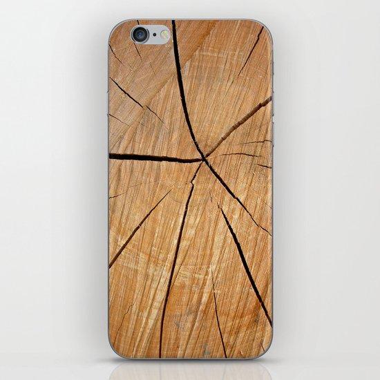 wood macro II iPhone & iPod Skin