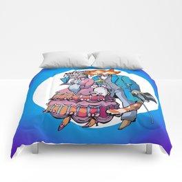 cats in love Comforters